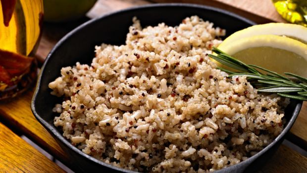 Swapping white rice with its brown alternative speeds up weight loss and is the equivalent of a 30-minute brisk walk!