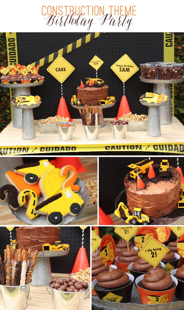 Construction Theme Birthday Party | Ellen Jay Events Feature on TheCelebrationShoppe.com