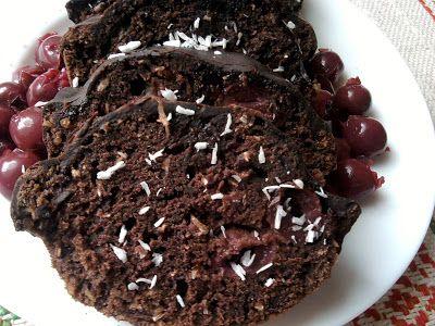 Paprikás krumpli: Meggyes-kókuszos brownie
