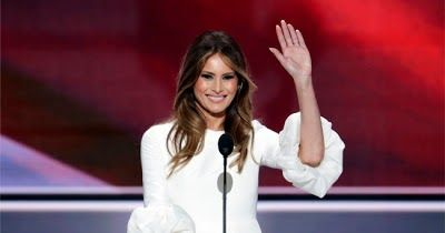 "Melania Trump's off-white Roksanda ""Margot"" dress sells out less than an hour after her RNC speech 