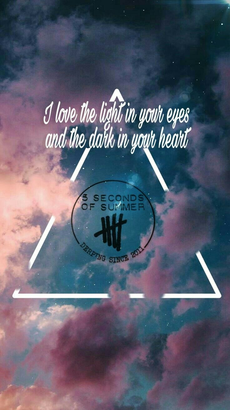 5sos Valentine Lyrics Wallpaper 5 Seconds Of Summer With Images