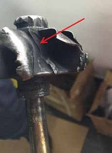 Why did the turbocharger get stuck? What caused the blade to break? - http://www.gp-turbo.com/turbocharger-blade/