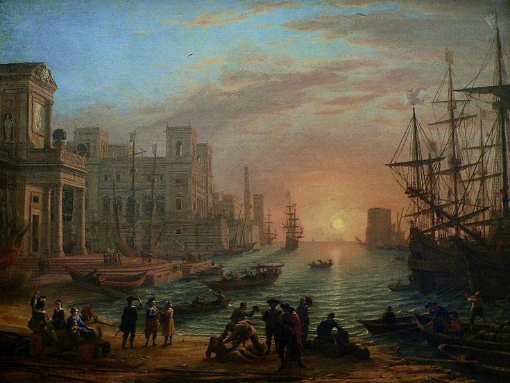 One of my favorites of the 17th century, by Claude Lorrain