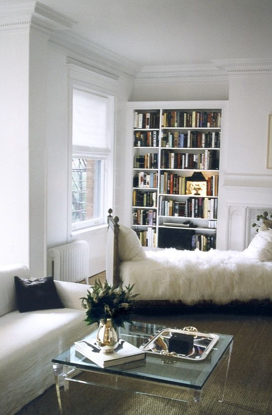 Trendy / Traditional / Front Room / Gold Element / Black And White / Bookshelf…