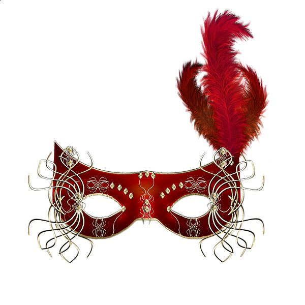 Red Mask Clipart