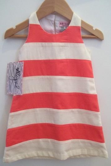 Abigail Childrenswear Double color dress