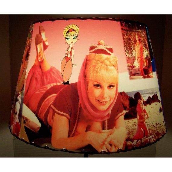 I Dream of Jeannie Lamp Shade Lampshade Barbara by CreativePal, $65.00