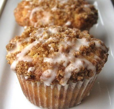 Cinnamon Strusel Muffins, these are as good as Cinnamon rolls, with a tenth of the mess