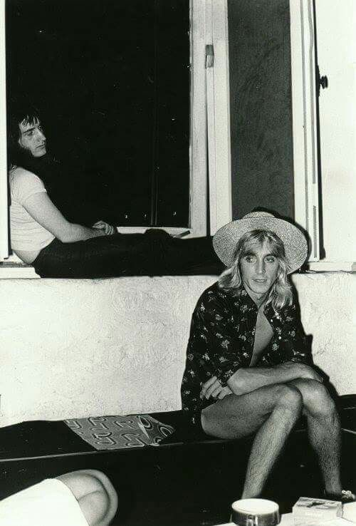 Trevor Bolder and Mick Ronson Pinups session's 73.