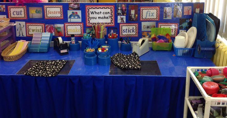 Make Table .... make masks, knights, princesses, castles and dragons! LH