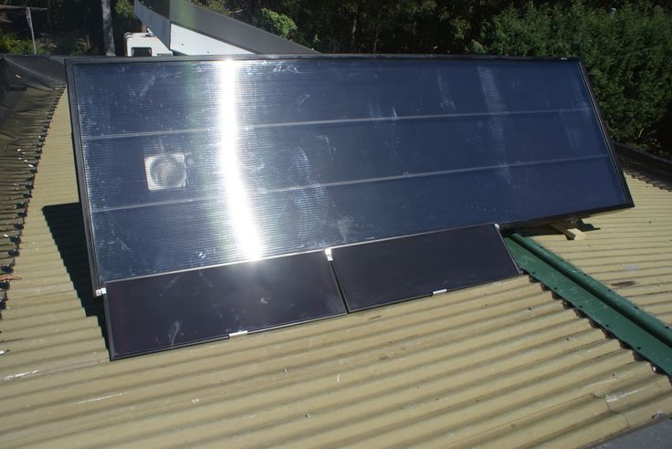 Solar heating, dehumidification and health. External mounted PV panels, bonus power. #solarventiau #solarventi