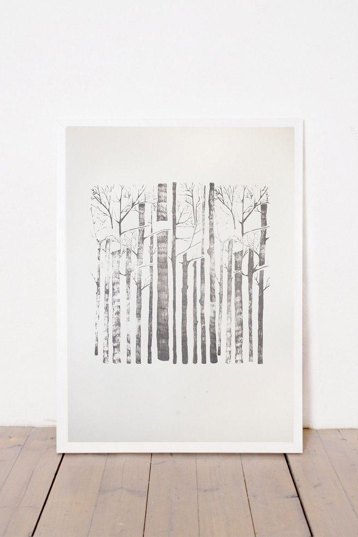 TREES PRINT
