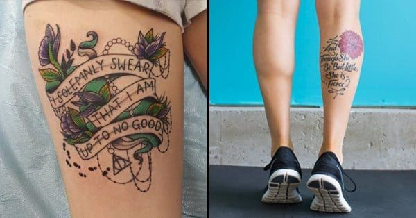 18 Inspiring Literary Quote Tattoos