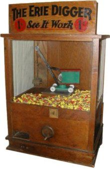 The Erie Digger penny arcade game