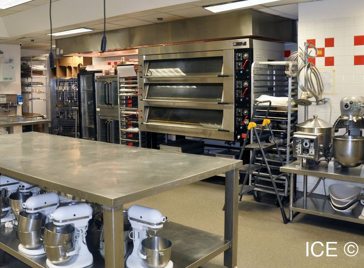 Pastry Kitchen 501 Ice Facilities In 2019 Pinterest