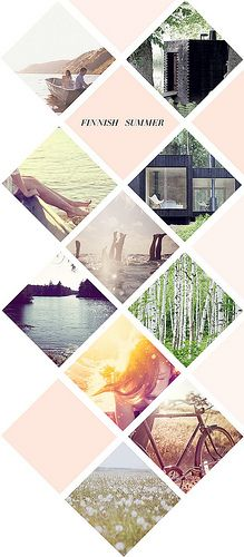 Photo layout/ I like how they have one main theme and instead of making a sorta…