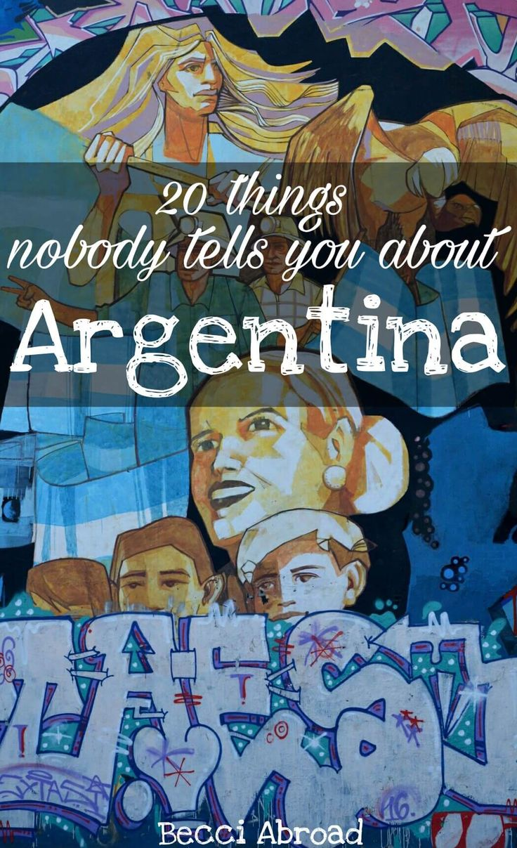 What do you know about Argentina? It is something with wine, soccer, big steaks and tango, right? Here you get 20 things nobody tells you about Argentina