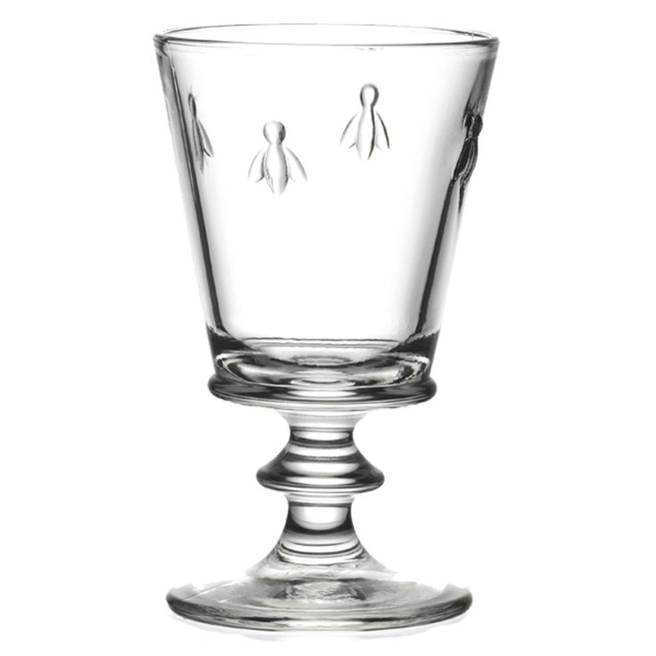 Napoleonic Bee Stem Glass