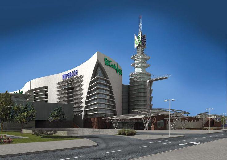 Centro comercial puerto venecia en zaragoza zaragoza - Construccion zaragoza ...