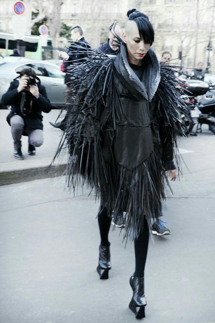 dark fashion lily wearing  jorge ayala