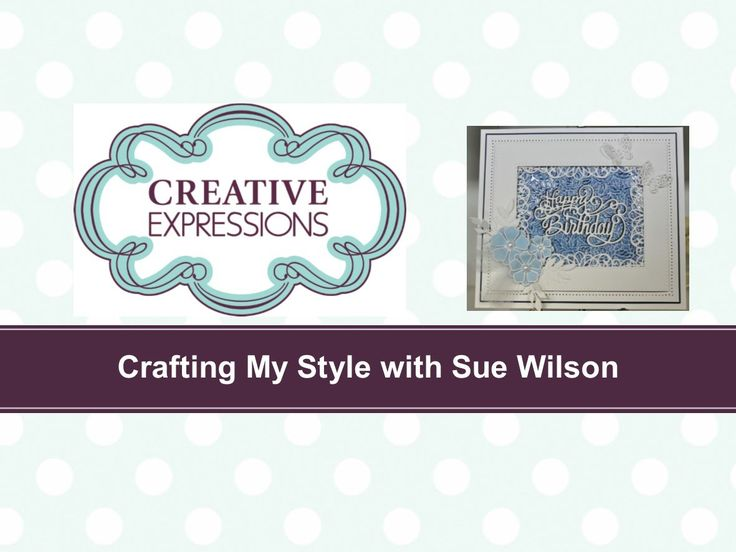 Crafting My Style with Sue Wilson - Embossed Wax Paper Resist Technique ...