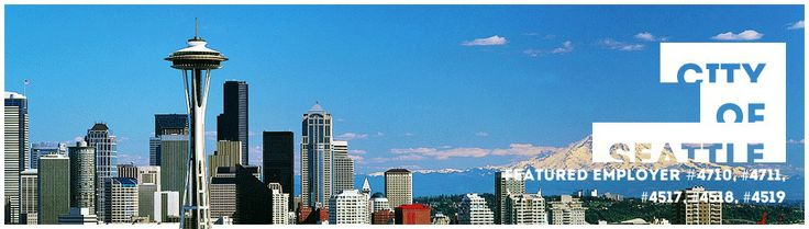 City of Seattle offers PAID internships in a variety of majors and fields, from Environmental Studies to Business.