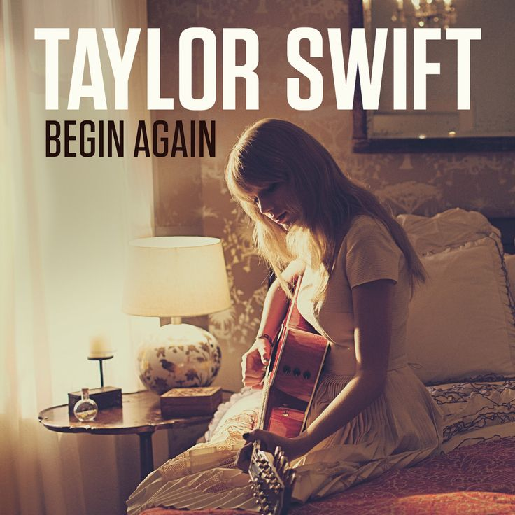 Taylor Swift Begin Again - Single Cover