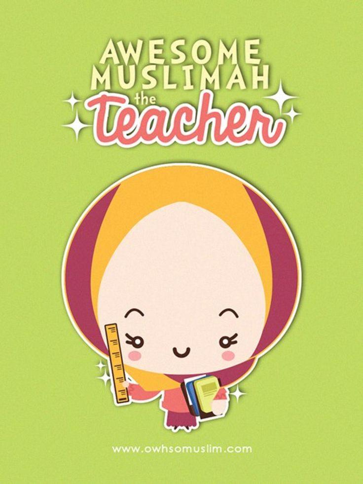 Hijabilicious teacher