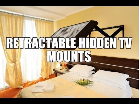 Retractable Hidden TV Mounts Awesome Stuff 365