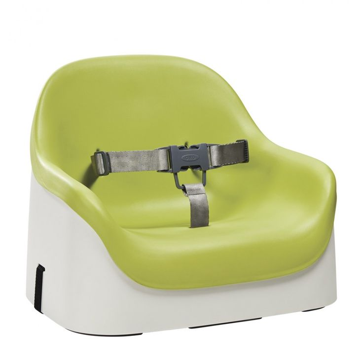 The OXO Tot Nest™ Booster Seat is a Booster Seat with Straps that will bring kids to the family table from as young as nine months. The Nest Booster Seat was designed with a soft cushion, as well as a high back and sides, to make any grown-up chair
