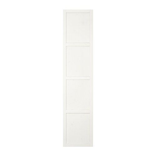 HEMNES Dörr, vitbets 50x229 cm mjukstängande gångjärn