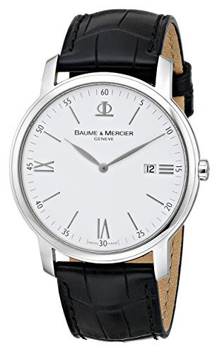 Now in stock Baume & Mercier Men's 8485 Classima Swiss Date Watch