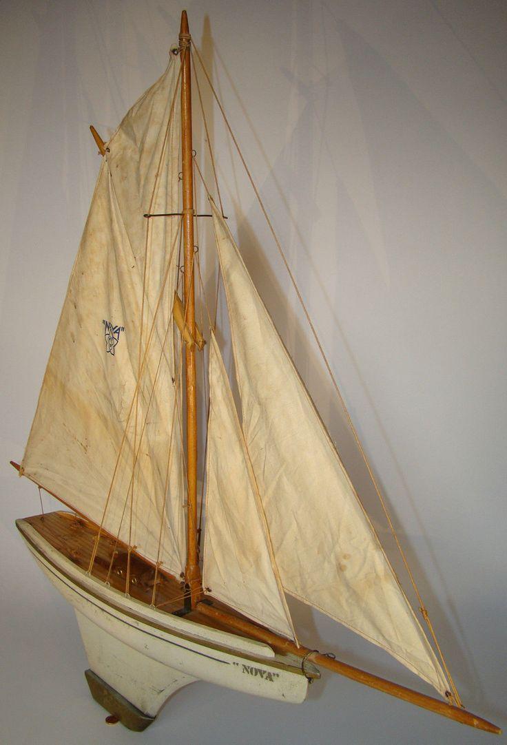 17 best images about pond yachts on pinterest models boats and sailboat plans - Voilier de bassin ancien nanterre ...