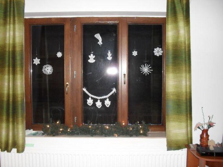 ablak diszek karácsonyra