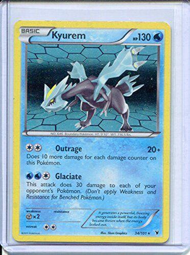 Kyurem Holo Rare Pokemon #34