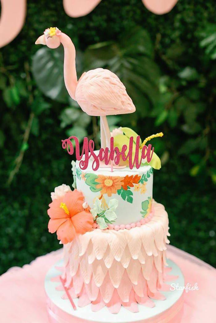 Tropical Flamingo Birthday Party Flamingo Birthday Flamingo