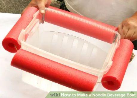 Image titled Make a Noodle Beverage Boat Step 4