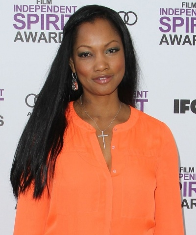 Garcelle Beauvais subtle braided hairstyle