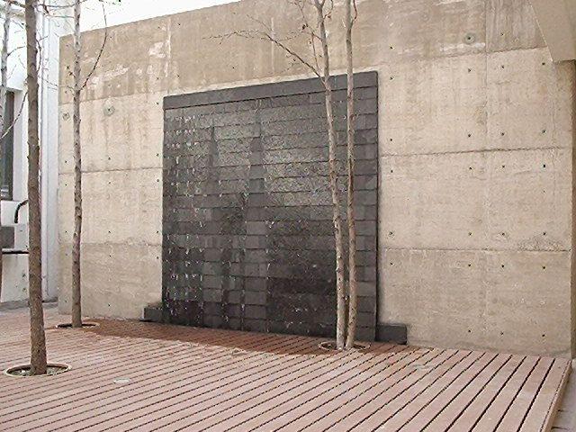 Muro de agua piscinas pinterest - Muro de agua ...