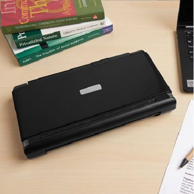What is a portable scanner printer?