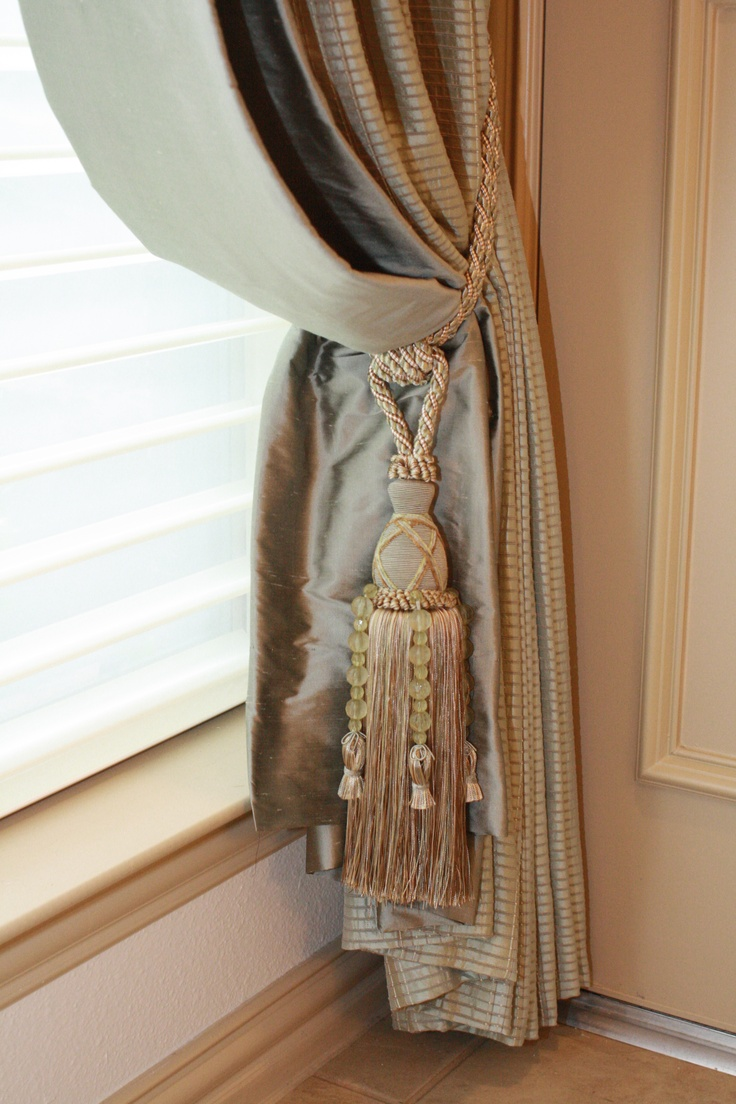 Pottery barn silk curtains - Find This Pin And More On Curtains