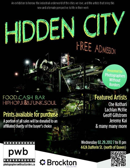 PWB Presents, Hidden City!  Feb 29th, 2012.