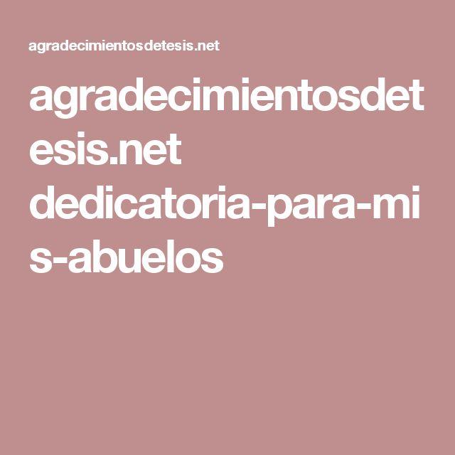 agradecimientosdetesis.net dedicatoria-para-mis-abuelos