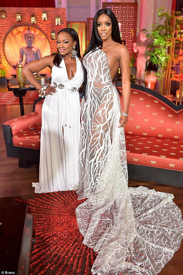 Reality TV stars Phaedra Parks & Porsha Williams