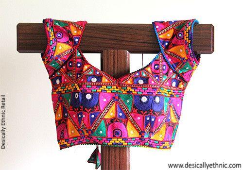 Black Kutch Work Blouse Design 3 – Desically Ethnic