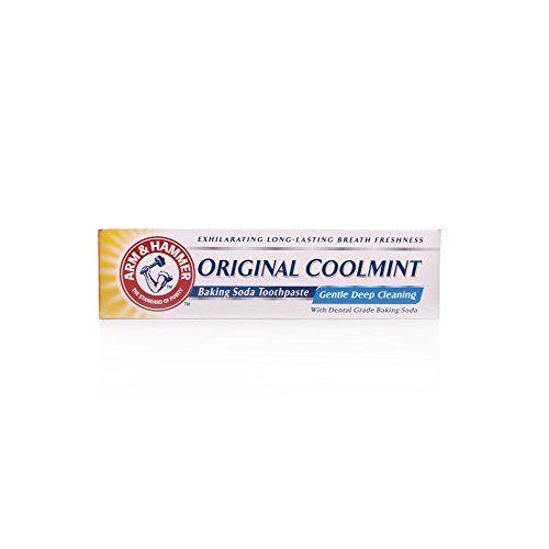 Arm & Hammer Original Coolmint Toothpaste Arm & Hammer CLICK PRIME ONLY http://www.amazon.co.uk/dp/B00F45UWQI/ref=cm_sw_r_pi_dp_h3tdvb1J7T2FN