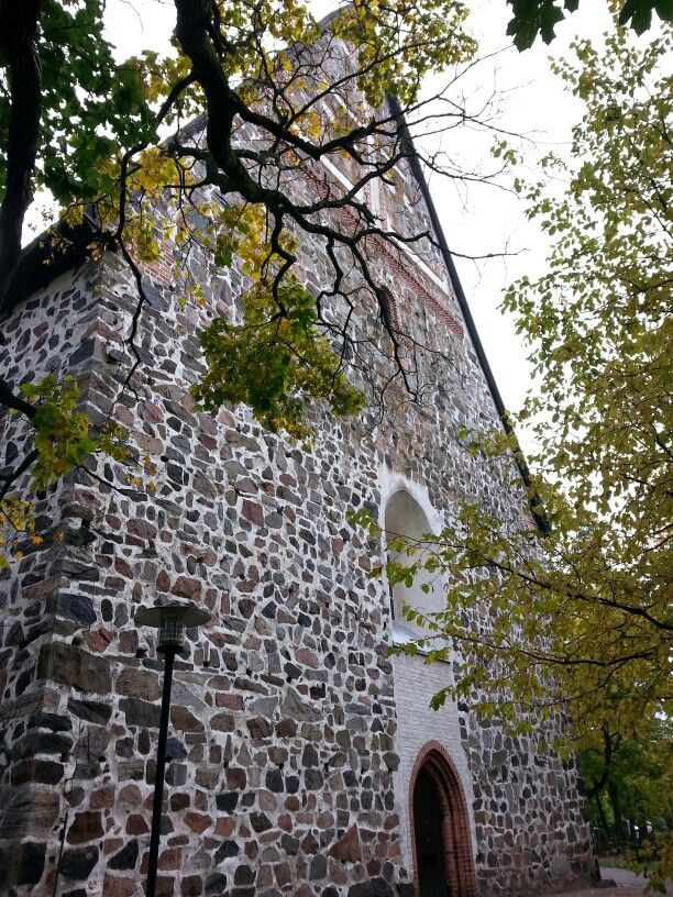 The church of St Lawrence, Lohja. Picture : Jaana Perheentupa