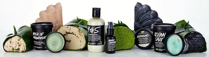 DETERGENTI LUSH  Creme, saponi, maschere e scrub per detergersi il viso con amore e con i migliori ingredienti di Madre Natura.