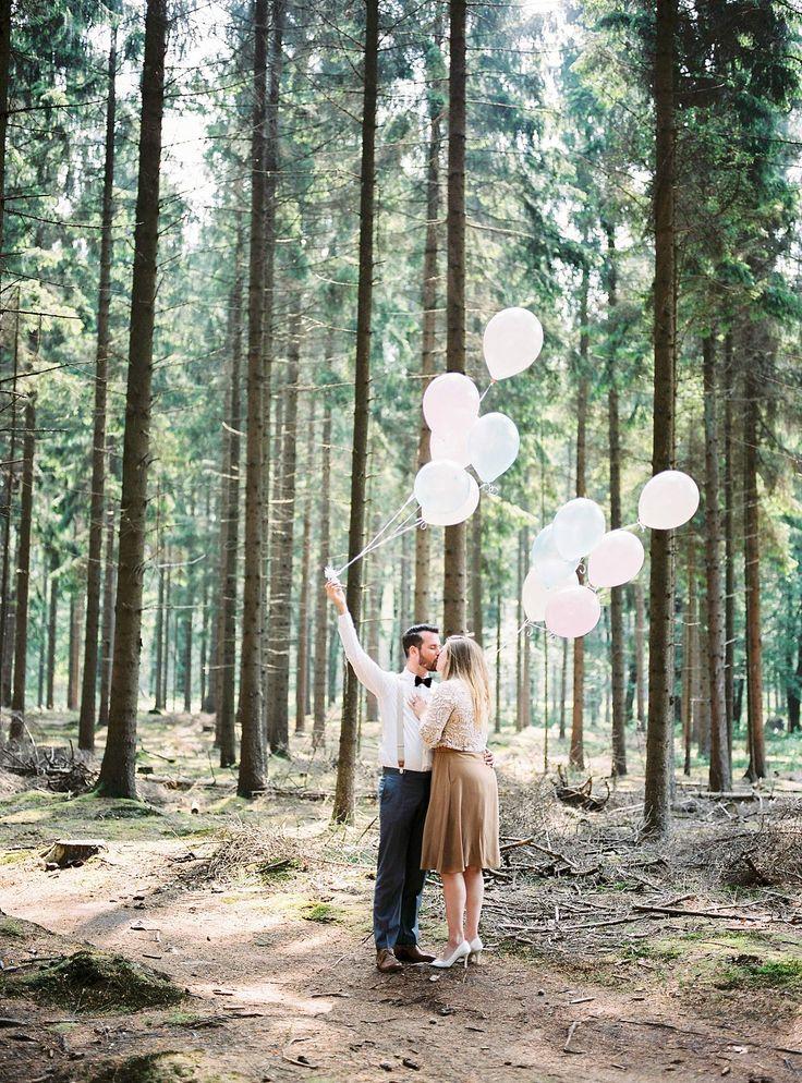 #Love #Balloons #Couple