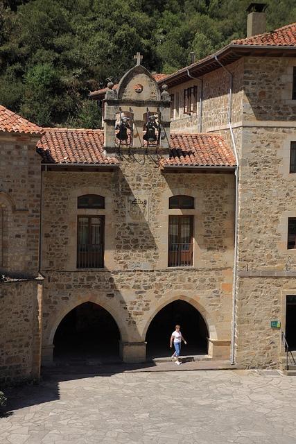 Campanario del Monasterio de Santo Toribio de Liébana Cantabria